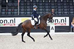 Van Kemenade-Witlox Mireille, (NED), Ferdinand<br /> Selectie 5 jarige WK paarden<br /> Dutch Championship Dressage - Ermelo 2015<br /> © Hippo Foto - Dirk Caremans<br /> 18/07/15