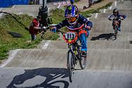 #113 (BERNARD Mathilde) FRA during round 4 of the 2017 UCI BMX  Supercross World Cup in Zolder, Belgium.