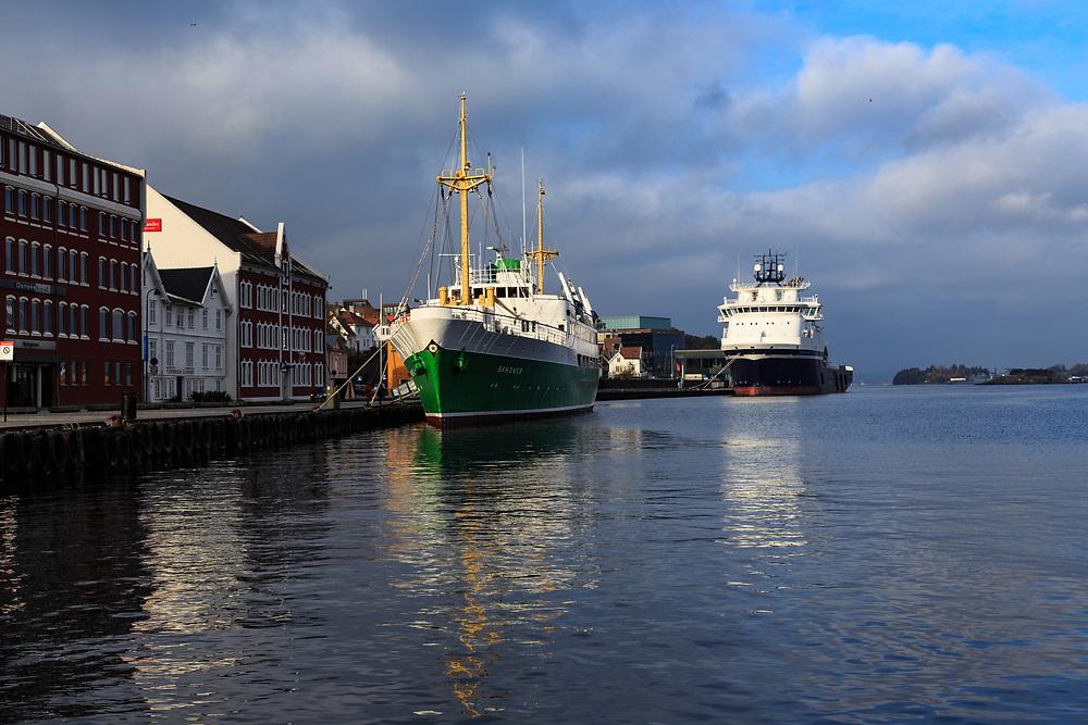 The Harbor in Stavanger, Norway.