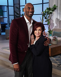 """Sharon Osbourne releases a photo on Instagram with the following caption: """"\u202aWe were so blessed to have @KobeBryant on the show today.\u00a0He\u2019s an Icon and he was an absolute gentleman.\u00a0It was an honor.\u202c"""". Photo Credit: Instagram *** No USA Distribution *** For Editorial Use Only *** Not to be Published in Books or Photo Books ***  Please note: Fees charged by the agency are for the agency's services only, and do not, nor are they intended to, convey to the user any ownership of Copyright or License in the material. The agency does not claim any ownership including but not limited to Copyright or License in the attached material. By publishing this material you expressly agree to indemnify and to hold the agency and its directors, shareholders and employees harmless from any loss, claims, damages, demands, expenses (including legal fees), or any causes of action or allegation against the agency arising out of or connected in any way with publication of the material."""