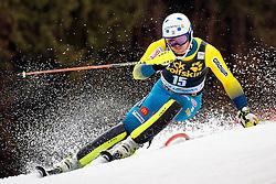 05.03.2017, Podkoren, Kranjska Gora, SLO, FIS Weltcup Ski Alpin, Kranjska Gora, Slalom, Herren, 1. Lauf, im Bild Andre Myhrer (SWE) // Andre Myhrer of Sweden in action during his 1st run of men's Slalom of FIS ski alpine world cup at the Podkoren in Kranjska Gora, Slovenia on 2017/03/05. EXPA Pictures © 2017, PhotoCredit: EXPA/ Johann Groder