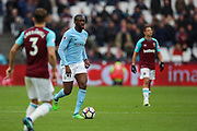 Manchester City midfielder Yaya Toure (42) during the Premier League match between West Ham United and Manchester City at the London Stadium, London, England on 29 April 2018. Picture by Toyin Oshodi.