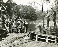1952 Filming Robin Hood at Disney Studios