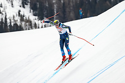 04.03.2021, Saalbach Hinterglemm, AUT, FIS Weltcup Ski Alpin, Abfahrt, Herren, 2. Training, im Bild Felix Monsen (SWE) // Felix Monsen of Sweden during the 2nd training for the men's Downhill Race of FIS ski alpine world cup in Saalbach Hinterglemm, Austria on 2021/03/04. EXPA Pictures © 2021, PhotoCredit: EXPA/ Johann Groder