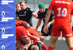 Joe Snow of Exeter Braves- Mandatory by-line: Nizaam Jones/JMP - 22/04/2019 - RUGBY - Sandy Park Stadium - Exeter, England - Exeter Braves v Saracens Storm - Premiership Rugby Shield