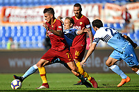 Lorenzo Pellegrini Roma Lucas Leiva Lazio <br /> Roma 28-09-2018 Stadio Olimpico Football Calcio Serie A 2018/2019 AS Roma - Lazio Foto Andrea Staccioli / Insidefoto