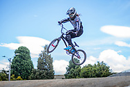 2021 UCI BMXSX World Cup<br /> Round 3 and 4 at Bogota (Colombia)<br /> ^we#121 VERHAGEN, Ashley (USA, WE) Radio<br /> Tricky first Jump, especially in windy conditions