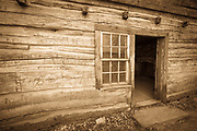 The Louisa Marie Russell house, Grafton ghost town, Utah USA