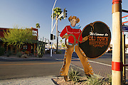 Shops in the Old Town district, Scottsdale, Arizona.