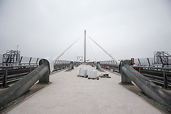 The media preview day for the Queensferry Crossing held on Tuesday 22 August. !!! NOTE strictly embargoed until 00:01am on Sunday 27 August.
