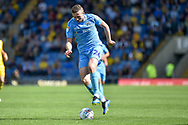 Coventry City midfielder Jordan Shipley (26) sprints forward with the ball during the EFL Sky Bet League 1 match between Oxford United and Coventry City at the Kassam Stadium, Oxford, England on 9 September 2018.