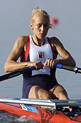 20040814 Olympic Games Athens Greece Olympic <br /> <br /> Regatta <br /> Photo  Peter Spurrier  <br /> CZE W1X Mirka Knapkova <br /> email;  images@intersport-images.com<br /> Tel +44 7973 819 551<br /> <br /> <br /> [Mandatory Credit Peter Spurrier/ Intersport Images]