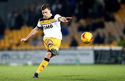 Ryan Taylor of Port Vale shoots at goal - Mandatory by-line: Robbie Stephenson/JMP - 20/01/2017 - FOOTBALL - Vale Park - Stoke-on-Trent, England - Port Vale v Bury - Sky Bet League One