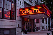 Northcentral Pennsylvania, restored Genetti Hotel, Williamsport, PA