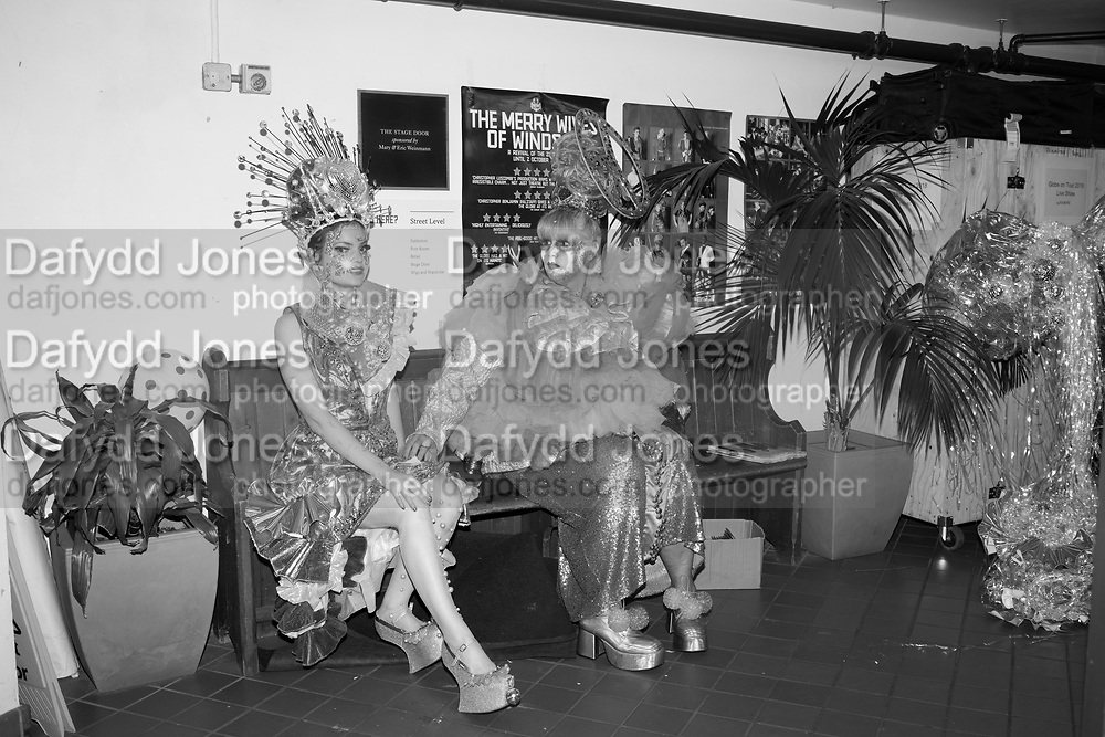 SOPHIE COCHEVELOU; LARA BUFFARD, Andrew Logan's Alternative Miss World, The Globe Theatre,  21 October 2018