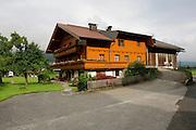 Zillertal, Tyrol, Austria A chalet