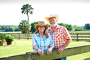 Sandra & Dan Marvel, owners of Marvel Farms in High Springs, FL