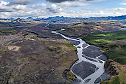Markarfljót river in the Fjallabak area.