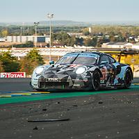 #77, Porsche 911 RSR, Dempsey-Proton Racing, drivers: Matt Campbell, Ricardo Pera, Christian Ried, LM GTE Am, 20.9.20, at the Le Mans 24H, 2020,