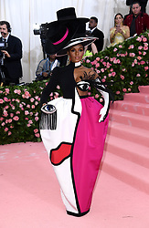 "Janelle Monae at the 2019 Costume Institute Benefit Gala celebrating the opening of ""Camp: Notes on Fashion"".<br />