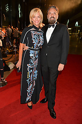 ELISABETH MURDOCH and KEITH TYSON at the GQ Men of The Year Awards 2016 in association with Hugo Boss held at Tate Modern, London on 6th September 2016.