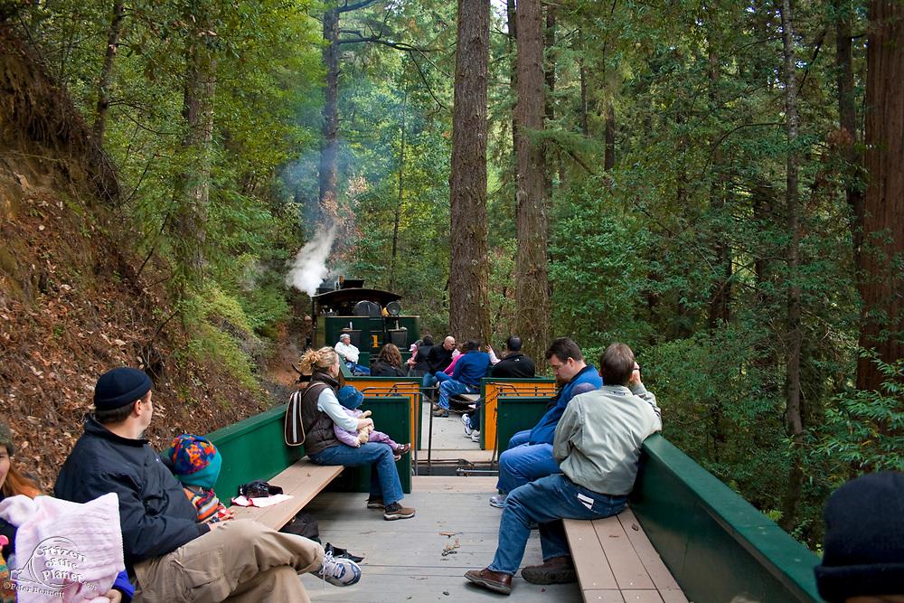 Roaring Camp Railroad, Felton, Santa Cruz County, California, USA