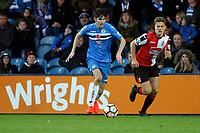 Max Cartwright. Stockport County Football Club 2-4 Woking Football Club, Emirates FA Cup first round, 5.11.16.