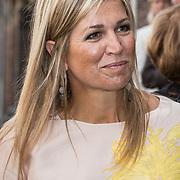 NLD/Utrecht/20170824 -  Koningin Maxima bij viering 650 jaar Bartholomeus Gasthuis, Koningin Maxima