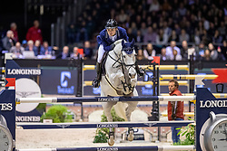 Balsinger Bryan, SUI, Clouzot de Lassus<br /> Jumping International de Bordeaux 2020<br /> © Hippo Foto - Dirk Caremans<br />  08/02/2020
