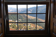 view over the valley quinta do cotto douro portugal