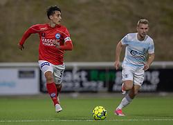 Svenn Crone (Silkeborg IF) under kampen i 1. Division mellem FC Helsingør og Silkeborg IF den 11. september 2020 på Helsingør Stadion (Foto: Claus Birch).