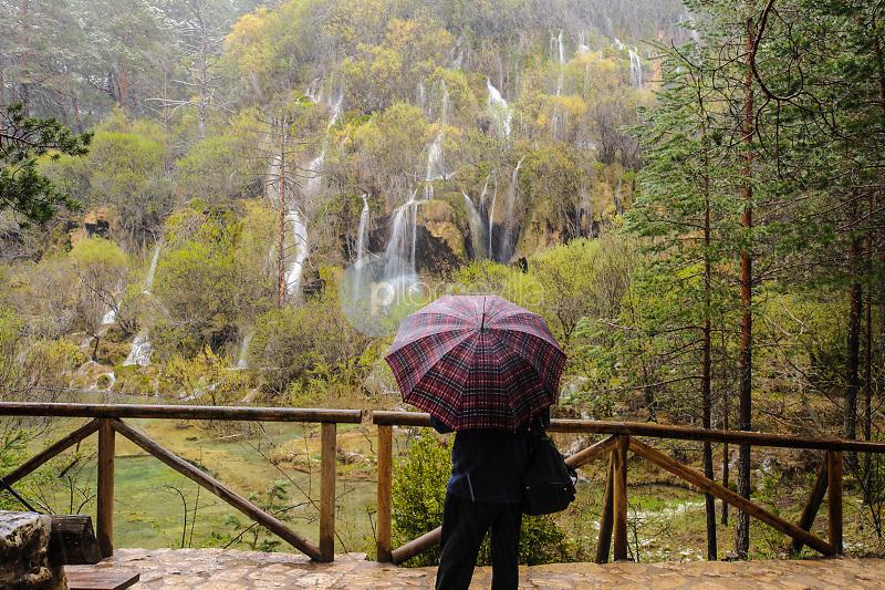 Monumento Natural del Nacimiento del río Cuervo. Parque Natural de la Serranía de Cuenca. Cuenca ©Antonio Real Hurtado / PILAR REVILLA