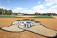 21 May 2016: David F. Couch Ballpark. The Wake Forest University Demon Deacons played the University of Louisville Cardinals in an NCAA Division I Men's baseball game at David F. Couch Ballpark in Winston-Salem, North Carolina. Louisville won the game 9-4.