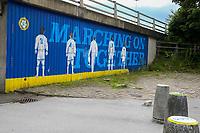 A general view outside Elland Road, home of Leeds United<br /> <br /> Photographer Alex Dodd/CameraSport<br /> <br /> The EFL Sky Bet Championship - Leeds United v Barnsley - Thursday 16th July 2020 - Elland Road - Leeds<br /> <br /> World Copyright © 2020 CameraSport. All rights reserved. 43 Linden Ave. Countesthorpe. Leicester. England. LE8 5PG - Tel: +44 (0) 116 277 4147 - admin@camerasport.com - www.camerasport.com