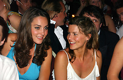 Left to right, KATE MIDDLETON and ALEX GORE BROWNE at the Boodles Boxing Ball in aid of the sports charity Sparks  organised by Jez lawson, James Amos and Charlie Gilkes held at The Royal Lancaster Hotel, Lancaster Terrae London W2 on 3rd June 2006.<br /> <br /> NON EXCLUSIVE - WORLD RIGHTS