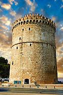 The Ottoman White Tower of Thessaloniki (15351536), symbol of Thealonika. Greece