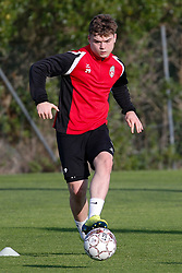 January 6, 2018 - Cadiz, SPAIN - Mouscron's Noam Debaisieux pictured during the first day of the winter training camp of Belgian first division soccer team Royal Excel Mouscron, in Cadiz, Spain, Saturday 06 January 2018. BELGA PHOTO BRUNO FAHY (Credit Image: © Bruno Fahy/Belga via ZUMA Press)