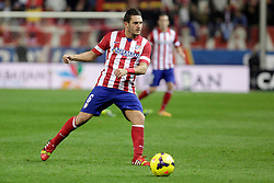27.10.2013, Estadio Vicente Calderon, Madrid, ESP, Primera Division, Atletico Madrid vs Real Betis, 10. Runde, im Bild Atletico de Madrid's Koke // Atletico de Madrid's Koke during the Spanish Primera Division 10th round match between Club Atletico de Madrid and Real Betis at the Estadio Vicente Calderon in Madrid, Spain on 2013/10/28. EXPA Pictures © 2013, PhotoCredit: EXPA/ Alterphotos/ Victor Blanco<br /> <br /> *****ATTENTION - OUT of ESP, SUI*****