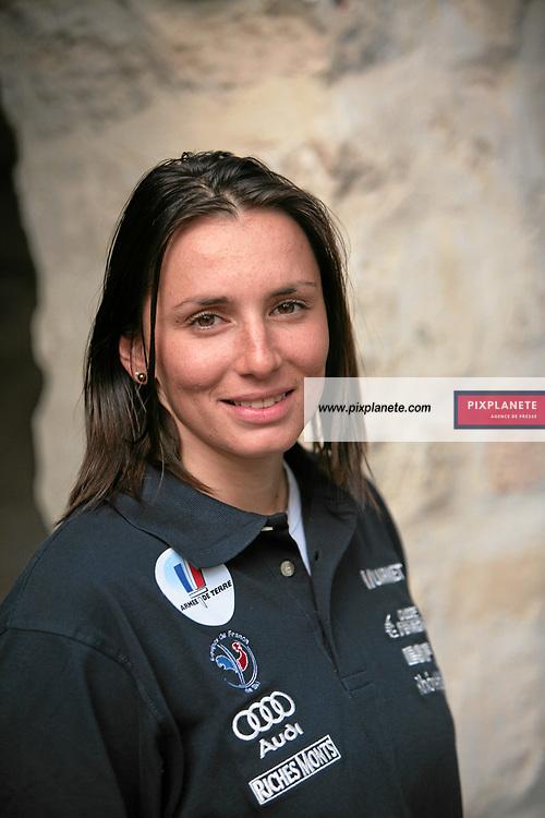 Aurélie Santon - Ski Alpin - présentation de l'équipe de France de ski 2007-2008 - Photos exclusives - 9/10/2007 - JSB / PixPlanete