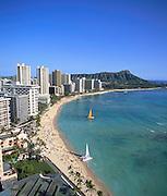 Waikiki, Oahu, Hawaii, USA<br />