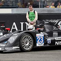 #23 Oreca 03 Nissan, Team Signatech Nissan, Drivers: Mailleux/Lombard/Tresson, Le Mans 24H, 2012