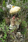 Small shrine. Sanur, Bali