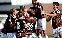 Fotball , 26 . august 2017 , NM herrer ,  Mjøndalen - Sarpsborg<br /> jubel etter scoring av Quint Arie Jansen , MIF