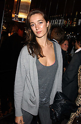 SOPHIA ROGGE at a party to launch the Frankie's TLC Card and the TLC Clubcard held at Frankie's Knightsbridge, 3 Yeomans Row, London SW3 on 1st February 2006.<br /><br />NON EXCLUSIVE - WORLD RIGHTS