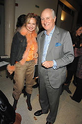 COUNTESS MAYA VON SCHONBURG and GEOFFREY VAN CUTSEM at a lecture about a record-breaking trip by Kiting to the Centre of Antarctica by Henry Cookson, Rupert Longsdon and Rory Sweet held at the Royal Geographical Society on 31st October 2007.<br />