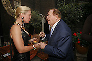 Frieda Hughes and Alan Bond, Tatler Summer party ( in association with Fendi) Home House, Portman Sq. 29 June 2006. ONE TIME USE ONLY - DO NOT ARCHIVE  © Copyright Photograph by Dafydd Jones 66 Stockwell Park Rd. London SW9 0DA Tel 020 7733 0108 www.dafjones.com