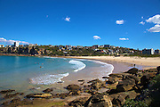 Dee Why Beach and its rock formations, Sydney, Australia