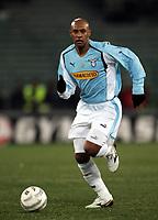 Fotball<br /> Serie A Italia 2004/05<br /> Lazio v Brescia<br /> 2. februar 2005<br /> Foto: Digitalsport<br /> NORWAY ONLY<br /> Ousmane Dabo Lazio