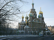 Saint Petersburg, Russia, Church of the Savior on Spilled Blood