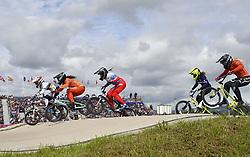 11-08-2018 BMX: EUROPEAN CHAMPIONSHIPS BMX CYCLING: GLASGOW<br /> Laura Smulders in de halve finale op de eerste plaats<br /> <br /> Foto: SCS/Soenar Chamid